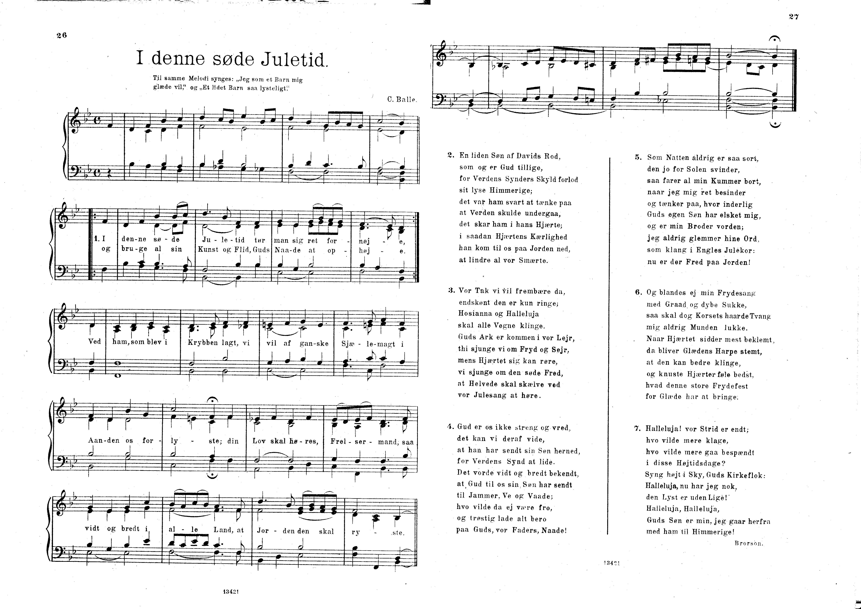 julesange med tekst og akkorder